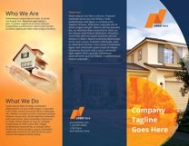 Real Estate Tri-Fold Brochure Template Product Image 6