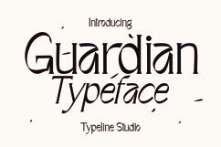 Guardian Typeface Product Image 1
