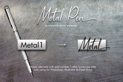 Metal Pen Script 3 Fonts Product Image 5