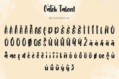 Catch Talent   Modern Handwritten Font Product Image 5