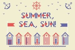 LOVELY-DAY-COLOR-CROSSSTICH OTF-SVG  multicolor font Product Image 6