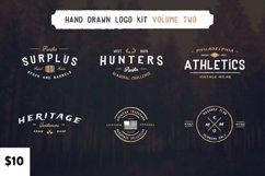 Vintage Hand Drawn Logos Volume Two Product Image 1