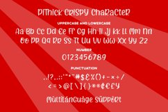 Pithick Crispy | a funny and quirky font Product Image 6