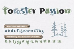 Mountain Journey - a Fun Font Duo Product Image 3