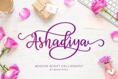 Ashadiya   Modern Calligraphy Font Product Image 1