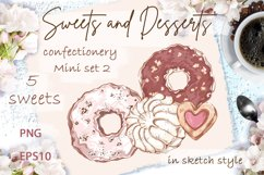 Sweets and desserts. Mini-set 2 Product Image 1