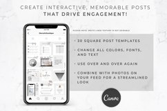 Instagram Template for Canva | Engagement Booster | Linen Product Image 4