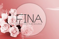 Fina Font Product Image 1