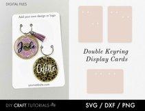 Keyring Display Card Svg BUNDLE, Packaging SVG, Keychain SVG Product Image 5