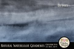 Watercolor Background Textures - Natural Gradient Papers Product Image 5