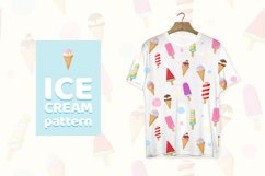 Tasty colorful ice cream and pattern SVG, EPS, PNG Product Image 3