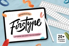 Firstype Procreate Lettering Brushes for Beginners Product Image 1