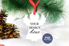 Christmas Angel Ornament Mockup PSD, Angel Ornament Mockup Product Image 2