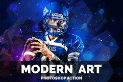 Modern Art Photoshop Action Product Image 1