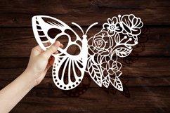 Papercut Beautiful Butterfly Floral Arrangement Product Image 3