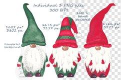Watercolor scandinavian gnomes png Product Image 2