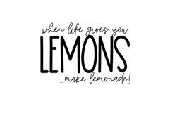 Lemon Lime - A Print/Script Handwritten Font Duo Product Image 5