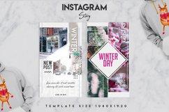 Winter instagram srory set Product Image 6