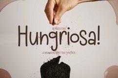Web Font Hungriosa Product Image 1