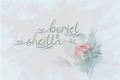The Brownies | Romantic Love Font Product Image 4