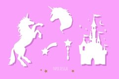 Fairy tale magic silhouettes with poster concept Product Image 4