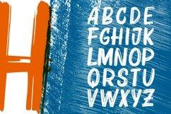 Bruzh - Handbrush Font Product Image 4