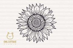 Sunflower Monograms svg, Sunflower mini bundle, Sunflower cl Product Image 2