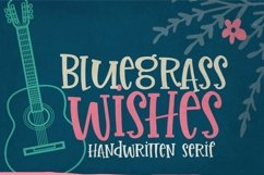 Bluegrass Wishes | Crafter Friendly Font Product Image 4