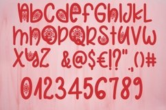 Web Font Christmas Snowflakes Font Product Image 5