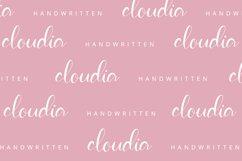 Cloudia - Handwritten Font Product Image 4