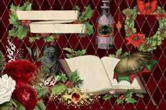 Christmas Alice In Wonderland Clipart Product Image 3