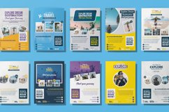 Travel 10 Flyer Template Bundle Product Image 4