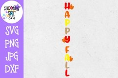 Happy Fall Leaves Welcome Sign SVG - Autumn SVG - Fall SVG Product Image 2