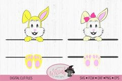 Easter Name banner, Easter bunny banner, Product Image 2