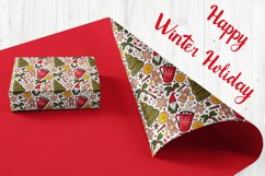 Christmas & New year Digital papers JPG PNG Seamless pattern Product Image 3