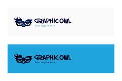 Owl Graphics - Creative Bold Smart Bird Stock Logo Template Product Image 2