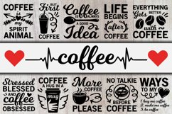 Coffee svg Bundle, but first coffee svg, mom life svg bundle Product Image 1