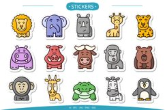 15 cute animals set clipart Product Image 4