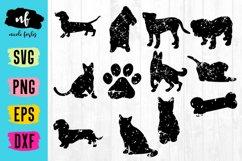 Distressed Pet SVG Bundle Product Image 1