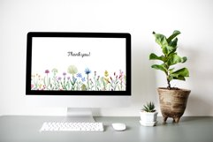 Watercolor Wildflowers. Patterns Product Image 7