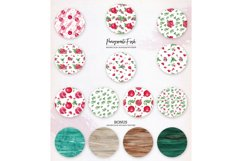 Pomegranate Fresh. Patterns Set Product Image 3