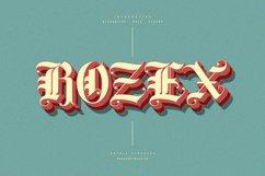Rozex - Bold Decorative Gothic Font Product Image 1