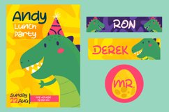 The Dinosaur - Cute Display Font Product Image 3