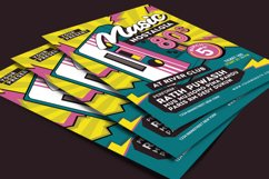 80's Music Event Flyer Product Image 4