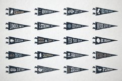 20 Hand Drawn Pennant Flags Product Image 3