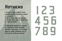Hothead Western Font Product Image 2
