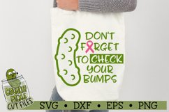 Pickle Breast Cancer Awareness SVG Cut File Product Image 1