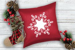 Snowflake SVG Silhouettes. 16 snowflake svg Product Image 2