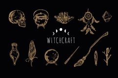 Witchcraft and Magic occult vintage svg bundle Product Image 2