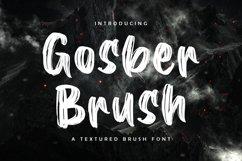 Gosber Brush Font Product Image 1